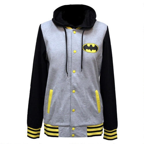 One of my favorite discoveries at ShopDCEntertainment.com: Batman Logo Fleece Jacket with Hood