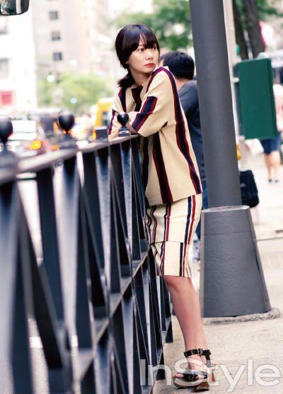 Bae Doo Na InStyle Korea Magazine October Issue '13