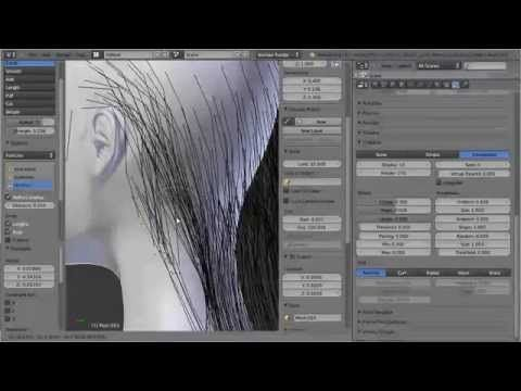Blender Hair Tutorial HD - YouTube