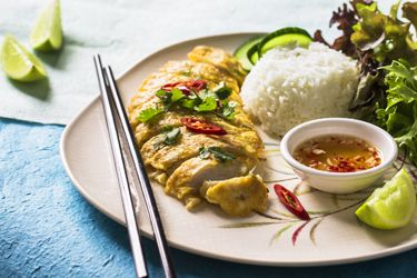 Lemongrass chicken served with steamed rice – Recipes – Bite