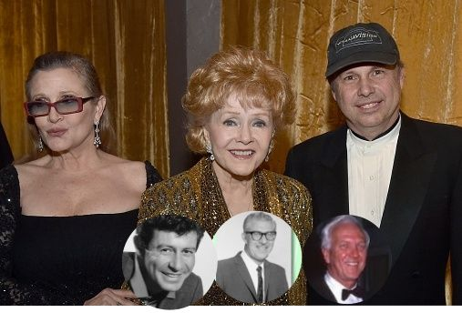 Debbie Reynolds, mother of actress Carrie Fisher aka Princess Leia married 3 times, first to Eddie Fisher, then to Harry Karl & lastly to Richard Hamlett