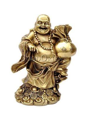 Fascinating Brass Statue Series-Maitreya Buddha