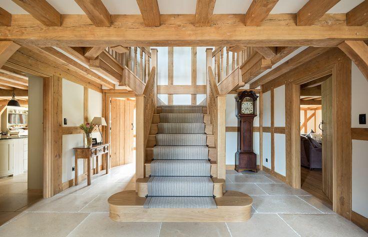 Surrey Manor - Border Oak - oak framed houses, oak framed garages and structures.