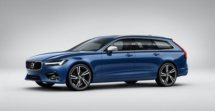 To start off on the right foot, yes, the 2018 Volvo V90 will be available in the United States. But the only ones Volvo will keep in stock on U.S. soil will be the lifted version of the wagon with plastic cladding adorning its body. If you want a wagon like the one  above, you'll have to custom order it or fly to Sweden.