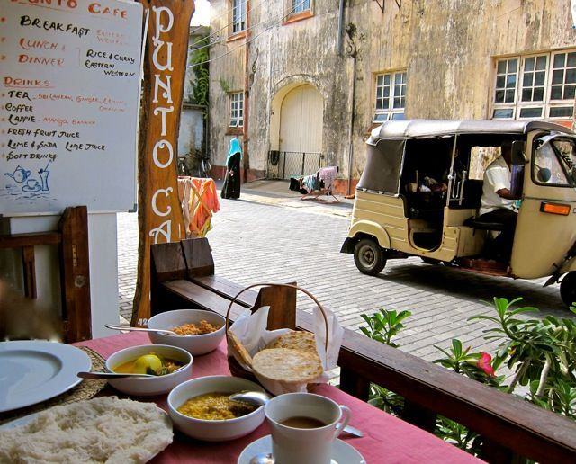 Best breakfast in Galle, Sri Lanka at Cafe Punto, whole trips on http://www.edeltrips.com/reiseberichte/sri-lanka/