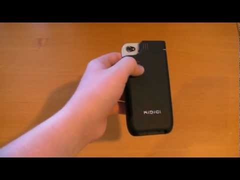 Video demo #mobile proyektor - pocket projector size