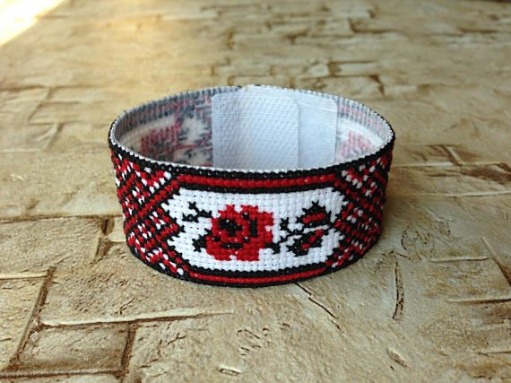 Ornament bracelet embroidery bracelet embroidered bracelet