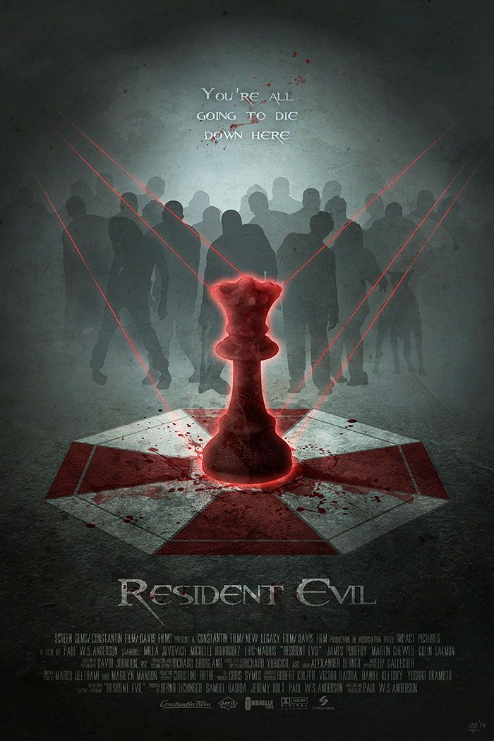 Resident Evil by Anthony Genuardi