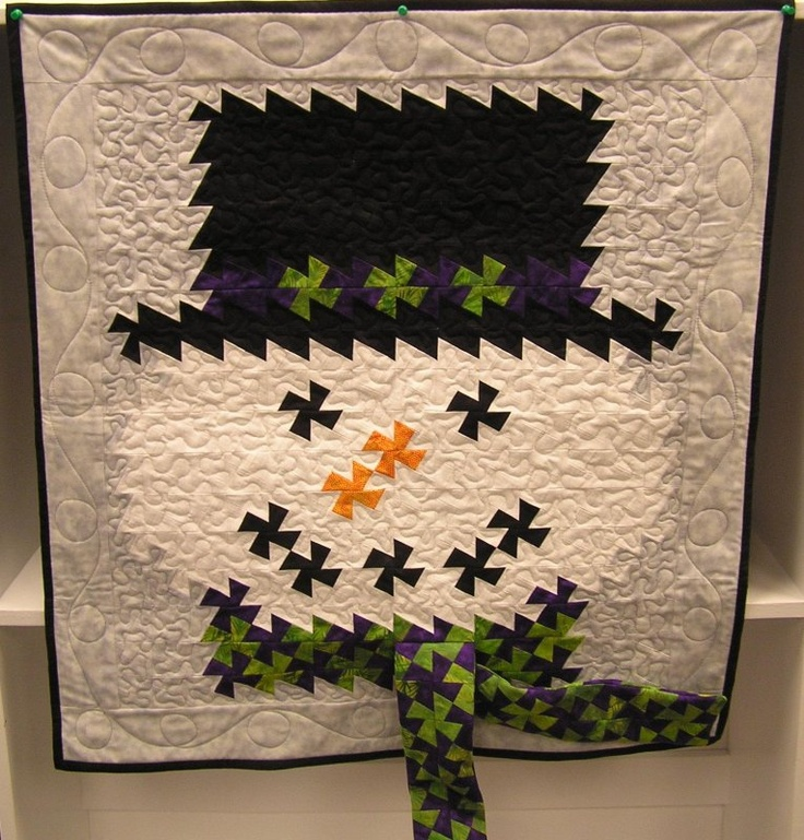 This quilt was sewn by Material Mart in Midland, MI. The