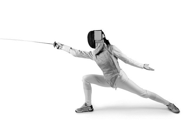 The Fitness Benefits of Fencing - Breaking Muscle. (This is what I used to look like when I was still fencing - my left food was NEVER to leave the floor!) - JEO)