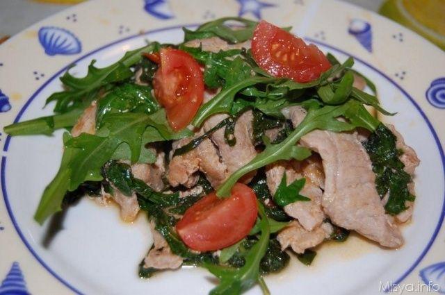 » Straccetti pomodorini e rucola Ricette di Misya - Ricetta Straccetti pomodorini e rucola di Misya