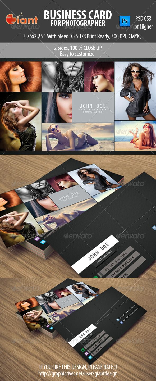 55 best business cards images on pinterest file format mockup business card for photographer magicingreecefo Images