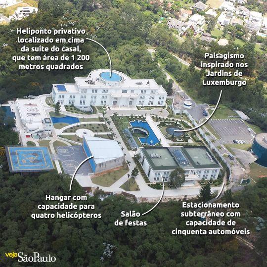 Ficou pronta a maior mansão do Brasil - Terraço Paulistano