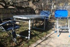 Noleggio: Noleggio di Cucina, 4 sedie, tavolo, accessori per campeggio. vivishare.it
