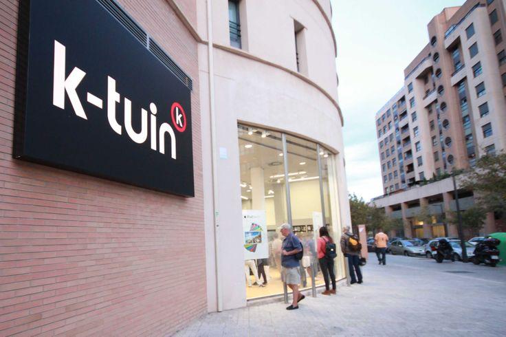 En #Valencia, y situada en la calle Hernández Lázaro, encontrarás la tienda #Apple #K-Tuin con el equipo más #profesional y que más conoce todo lo relacionado con todos los productos #Apple.