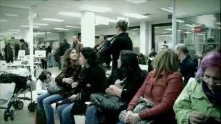Flashmob oficina paro (Carne Cruda 2.0), via YouTube.