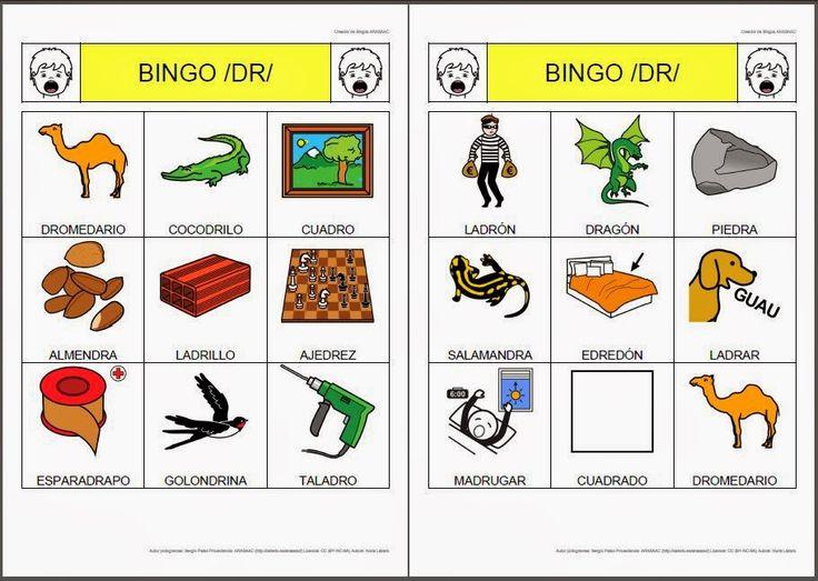 """Nuevos materiales para niños con Problemas para pronunciar la """"r"""" Rotacismo -Orientacion Andujar"""