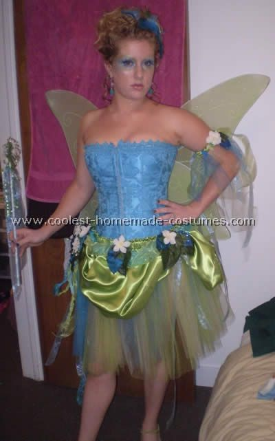 Fairy Costume (with a green bustier) as an idea for DIY Poison Ivy
