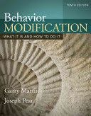 Martin, G., & Pear, J. (2015). Behavior modification: What it is and how to do it (10th ed.). Boston: Pearson Education.