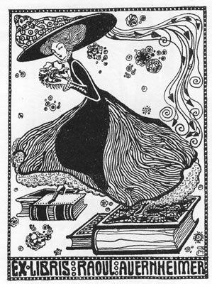 Exlibris für Raoul Auernheimer