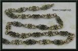 Designer Butterfly Link Bronze Chain: 1/2 meter