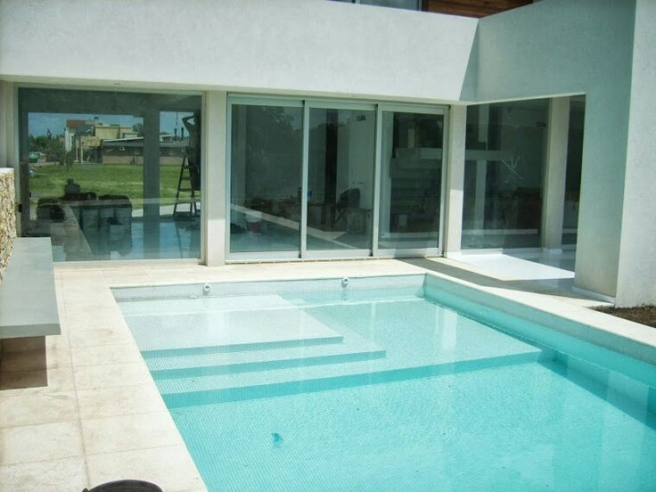 Pileta solarium humedo ooutdoors pinterest for Ideas de piletas