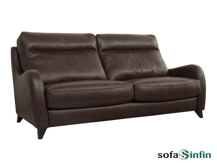 Sofá clásico de 3 y 2 plazas modelo Gineta fabricado por Losbu en Sofassinfin.es