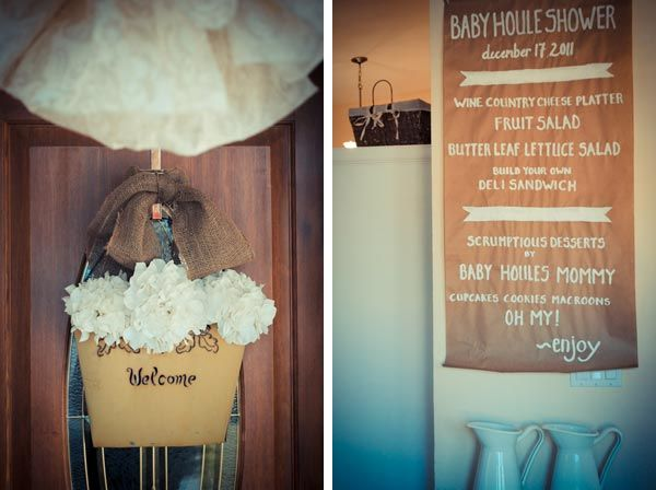 paint your own menuShower Ideas, Real Baby'S Shower Vintage, Cream Shower, Baby Shower