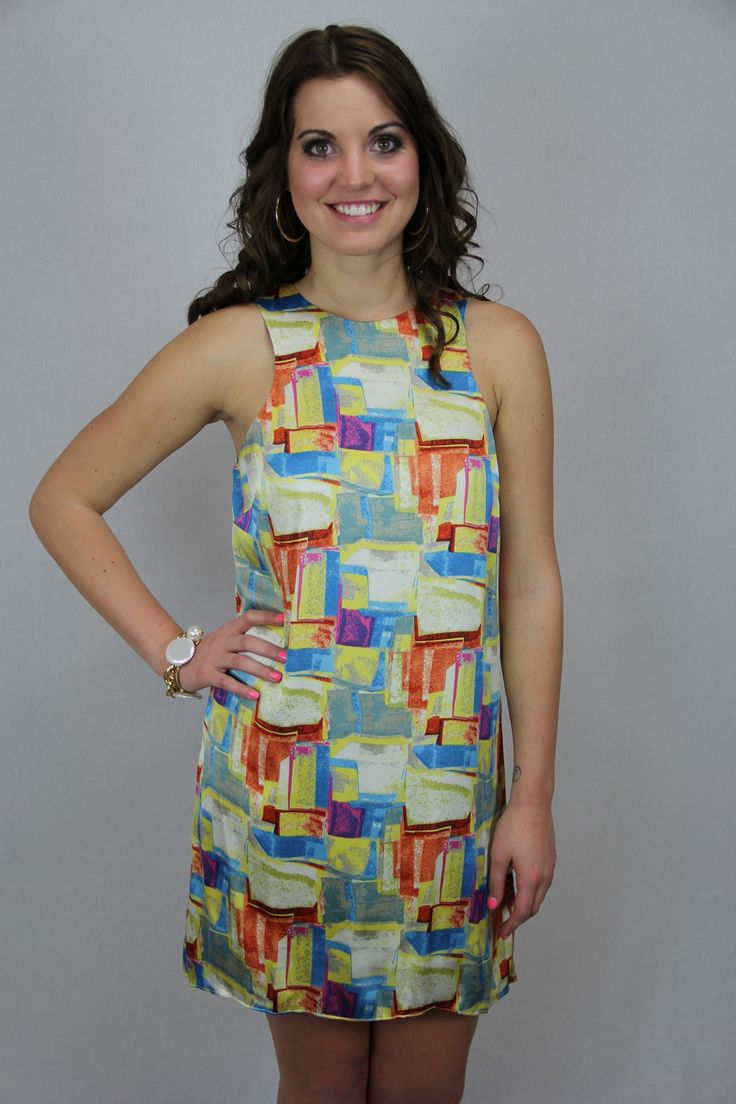 tres carmen - Tile Print Dress, $52.00 (http://www.trescarmen.com/tile-print-dress/)