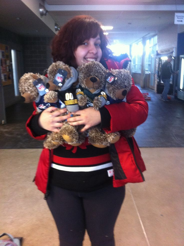 Teddy Bears! From the Ice Center