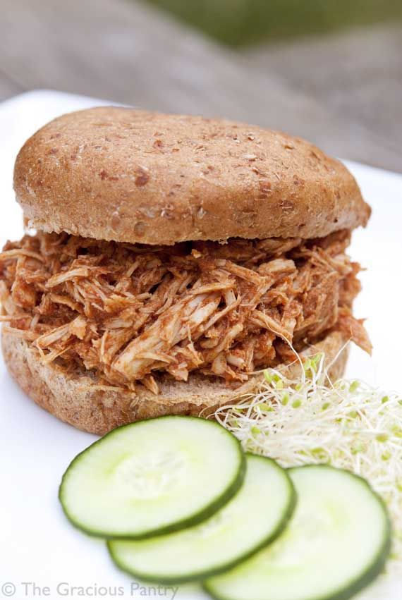 Clean Eating Recipes | Clean Eating Slow Cooker Pulled Pork Sandwiches
