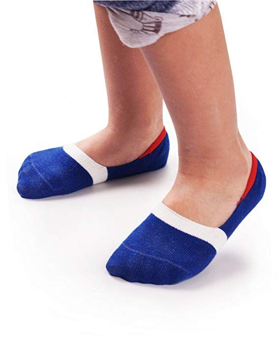 387622ca5c674 Amazon.com: BabaMate 6 Pairs Baby Toddler Little Kids No Show Socks ...