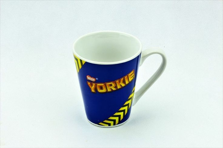 NESTLÉ YORKIE MUG JUST CUP COLLECTABLE NEW DRINKS CHOCOLATE