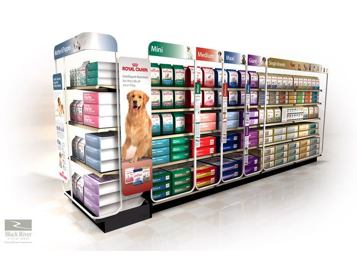 Royal Canin Display