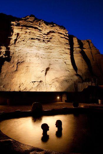 Most definitely Devine. Ojo Caliente Spa - New Mexico #devinecolor #lifeilluminated