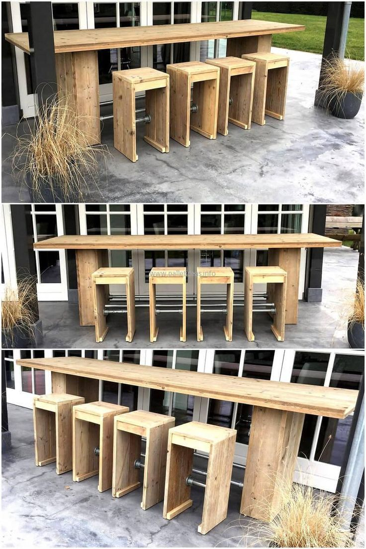 Patio From Pallets 137 Best Pallet Bars Images On Pinterest Pallet Ideas Pallet