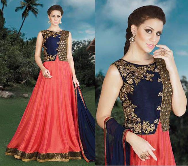 Anarkali Salwar Kameez Indian Pakistani Wedding Wear Punjabi Suit Bollywood Dres #Shoppingover #Salwarkameez