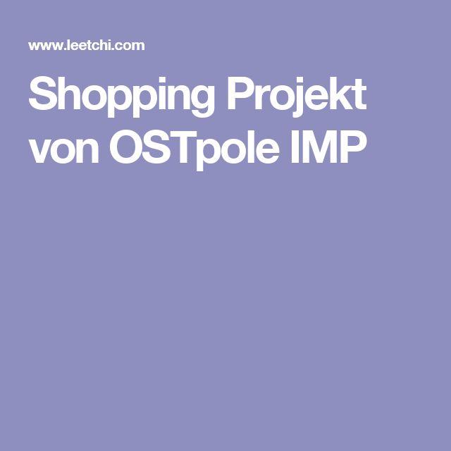 Shopping Projekt von OSTpole IMP