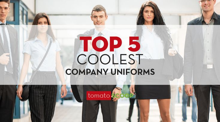 [Blog 2min read] Find out which five businesses around the world have the coolest company uniforms. Discover how you, too, can achieve the look of success