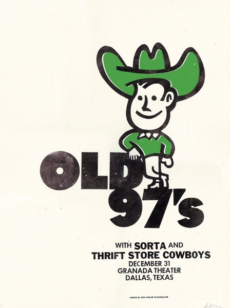 Old 97's | Sorta | Thrift Store Cowboys - 12/31/04 (by Dirk Fowler)
