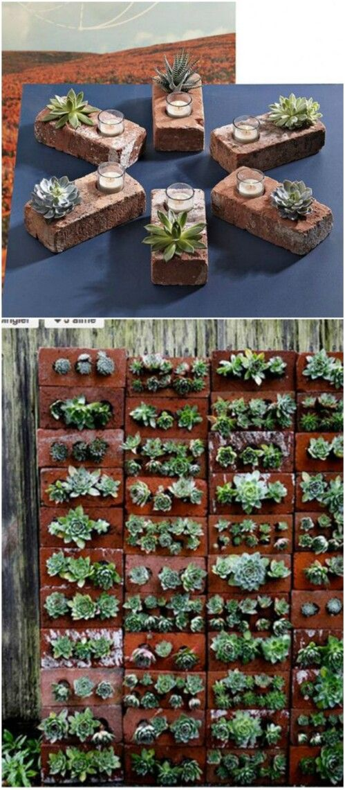 Garden Ideas With Bricks 25+ best brick crafts ideas on pinterest | painted bricks crafts