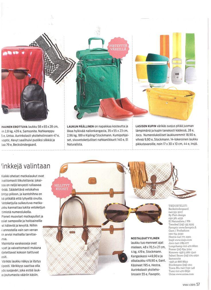 Joco Cups at VIVA Magazine Finland 7.1.2015