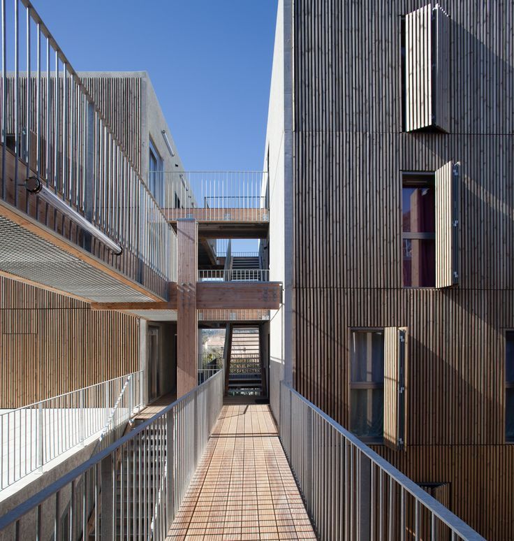 Gallery - Social Housing + Shops in Mouans Sartoux / COMTE et VOLLENWEIDER Architectes - 1