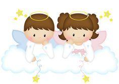 Resultado de imagen para angeles bautizo