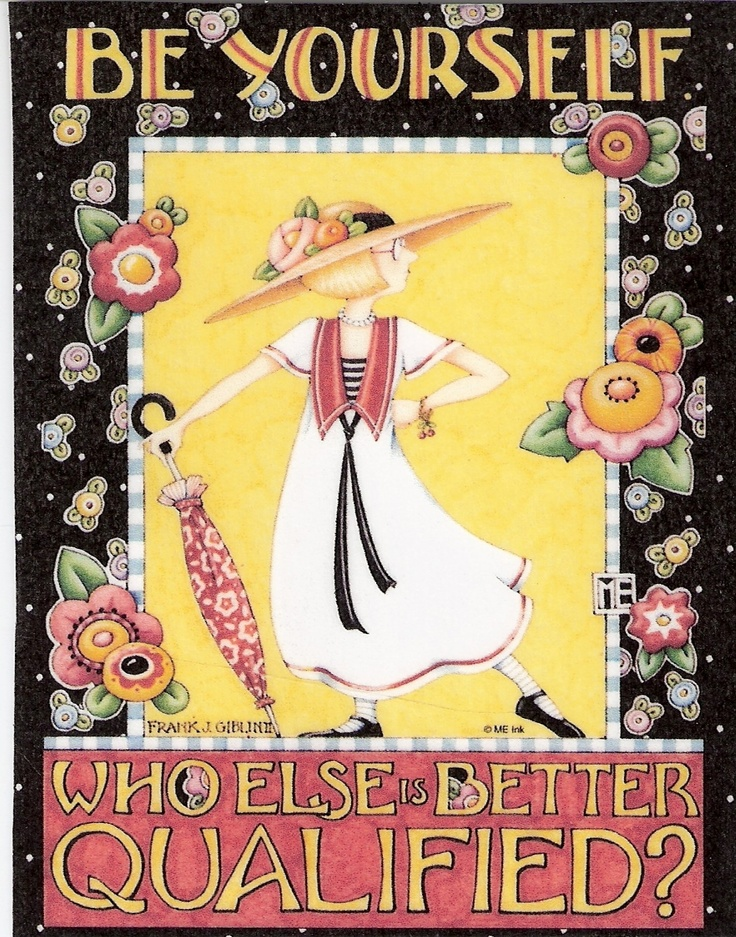Mary Engelbreit Artwork- love the illustration with the borders she does- like old bookplates-gets me every time