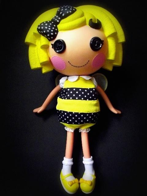 Lalaloopsy Custom doll ♥Sweety Bee♥ by freche_vampirmaus