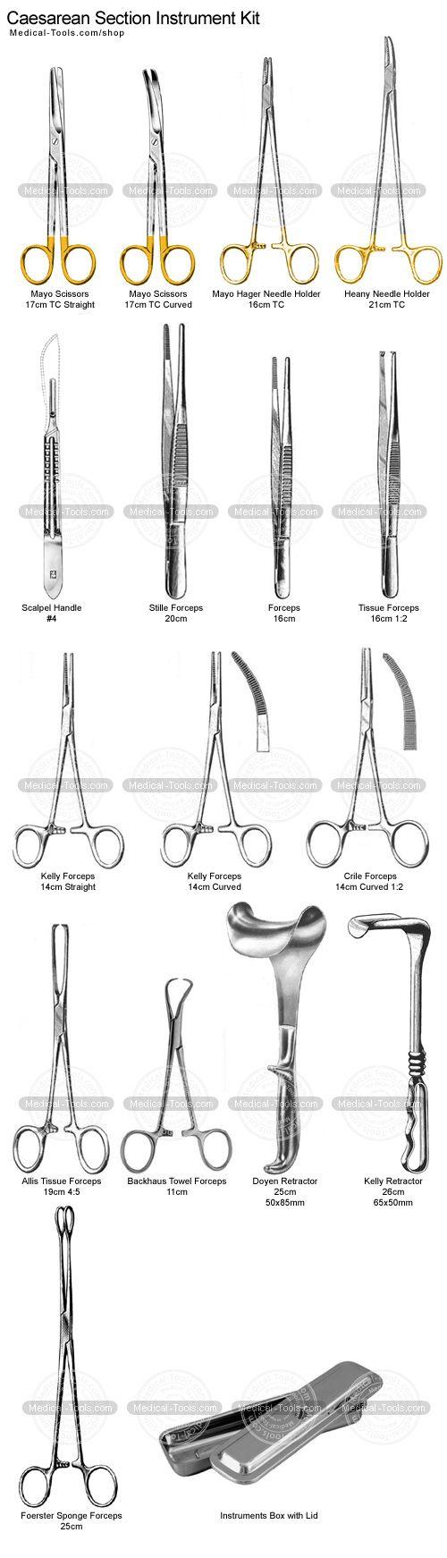Cesarean Section Instrument Kit