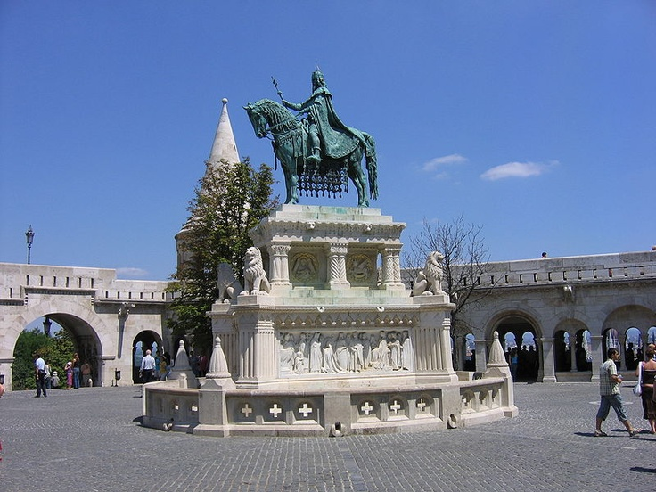 Statue on Fisher Bastion Budapest