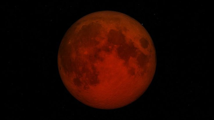 Lunar Eclipse 7 August 2017 Full Moon