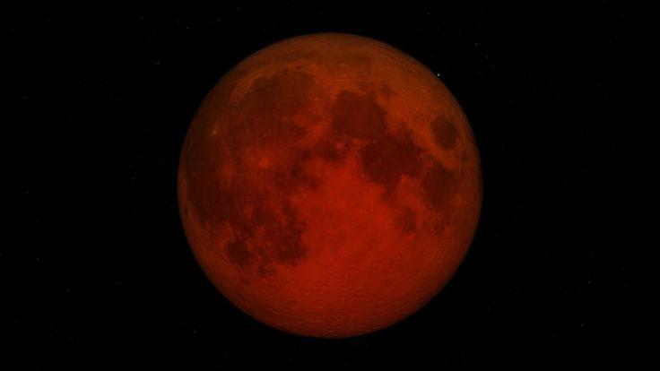 Lunar Eclipse 7 August 2017 Full Moon